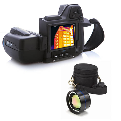 FLIR T420BX-KIT-15 Thermal Imaging Camera, MSX, 15� Lens, 320 x 240, -4 - 622�F Range, 60 Hz