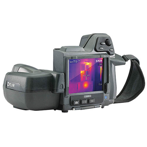 FLIR T440-NIST Thermal Imaging Camera, MSX, NIST Certificate, 320 x 240, -4 - 2,192�F Range, 60 Hz