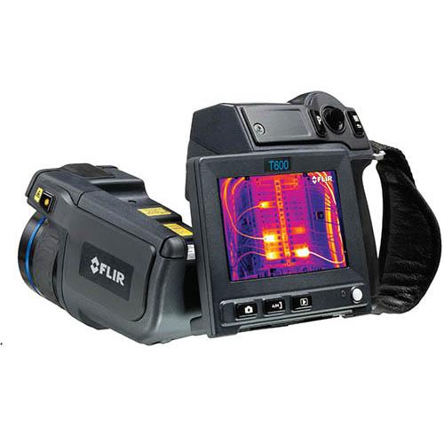 Flir T600-25 4x Zoom, 480x360, -40 to 1202°F Thermal Camera, 172,800 pixels, with Wifi, and 25° Lens