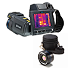 FLIR T600-KIT-45 Thermal Imaging Camera, MSX, 25�/45� Lenses, 480x360, -40 - 1,202�F, 30 Hz, 4x Zoom