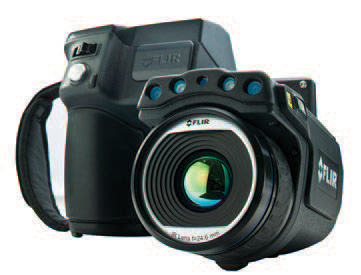 Built-in 5MP digital camera, LED lamps, laser pointer, diopter, rotating lens, image capture button and auto/manual focus
