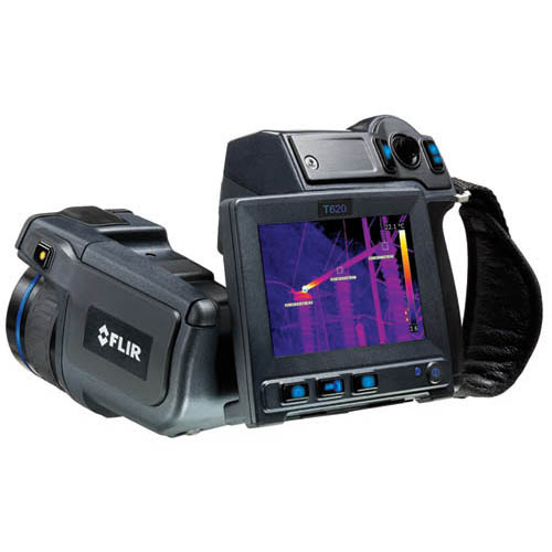 Flir T420BXKIT45 Thermal Imaging Infrared Camera, 4X Continuous Zoom, with standard and 45° Lens