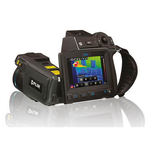 FLIR T640-25 Thermal Imaging Infrared Camera, 8X Continuous Zoom w/25 Lens