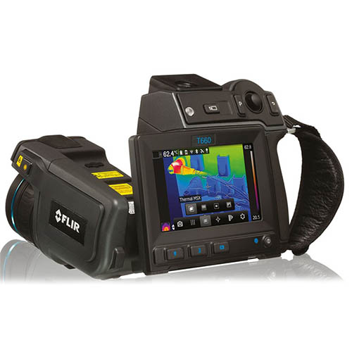 Flir T660-25 30 Hz, 640 x 480, Thermal Imaging Camera with UltraMax and 25° Lens