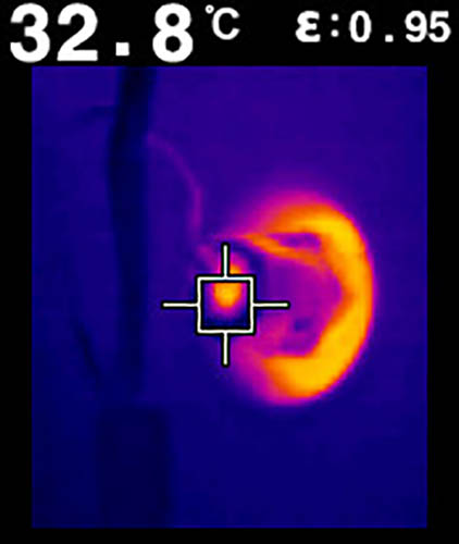 FLIR TG167 Spot Thermal Camera, 25° x 19.6° FOV, -13 - 716°F Range, 9 Hz Framerate (In the Field)