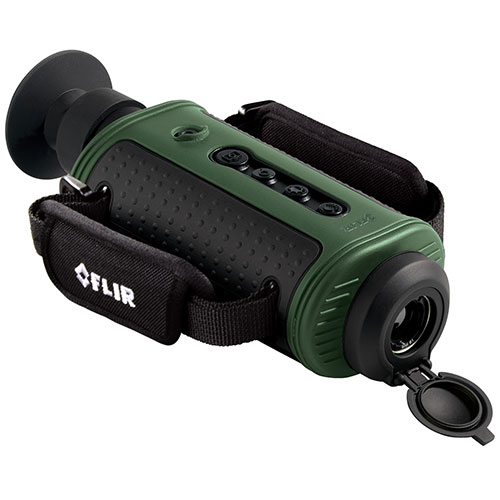 FLIR SCOUT TS32 PRO Monocular Thermal Handheld Camera, Storage, 320 x240 Resolution, 19mm Lens, 9 Hz