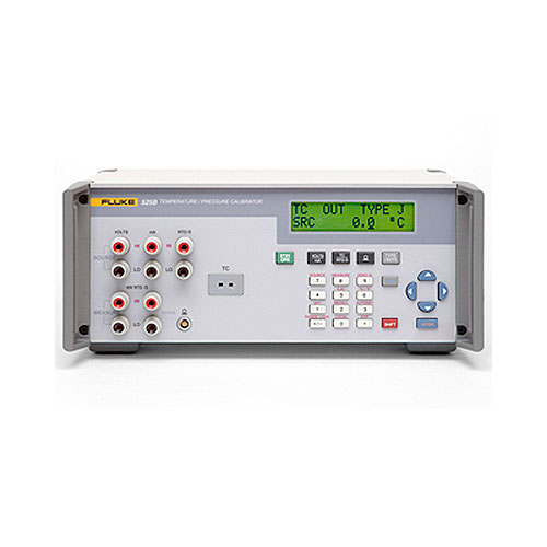 Fluke Test Instruments : Fluke calibration b temperature pressure calibrator