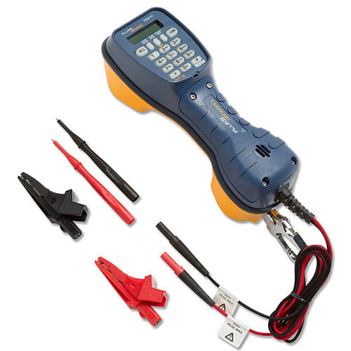 Fluke Networks 52801TNT TS52 Pro Telephone Test / Butt Set w/ Banana, XL Alligator and Test Probe