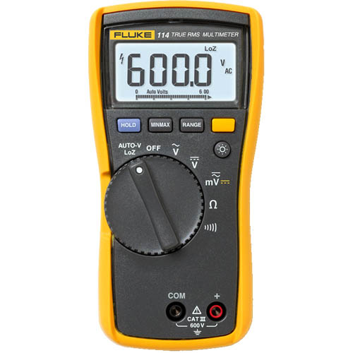 Fluke 114 True-RMS AC/DC Electrical Multimeter