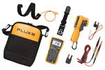 Fluke 116/62 MAX+ True-RMS AC/DC HVAC Multimeter with Infrared Thermometer Combo Kit