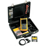 Fluke 123/003S 20 MHz, 2 Ch, 25 MS/s, Industrial ScopeMeter with SCC120 Kit