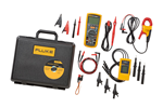 Fluke 1587/MDT FC TRMS Megohmmeter, Fluke Connect, AC Current Clamp, 3-Phase Rotation Indicator Kit