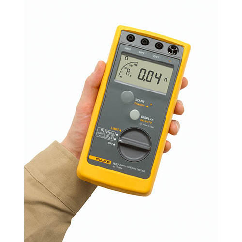 Earth Resistance Tester Fluke : Fluke geo earth ground tester with pole fall of