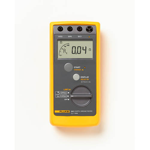 Click for larger image of the Fluke 1621 GEO Earth Ground Tester