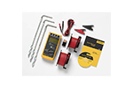 Fluke 1621 KIT Basic Earth Ground Tester Kit with 1621, Cable Reels, Ground Stakes, Clamps and Case
