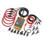 Click for larger image of the Fluke 1744 Power Quality Logger Memobox (with Probes)