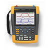 Fluke 190-102/AM 100 MHz, 2 Ch, 1.25 MS/s, ScopeMeter Oscilloscope with Built-in Digital Multimeter
