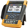 Fluke 190-104/AM 100 MHz, 4 Ch, 1.25 GS/s, ScopeMeter Oscilloscope with Built-in Digital Multimeter