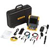 Fluke 190-502/AM/S 500 MHz, 2 Ch, 5 GS/s, ScopeMeter Oscilloscope w/Built-in DMM & SCC-290 Kit