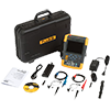 Fluke 190-504/AM/S 500 MHz, 4 Ch, 5 GS/s, ScopeMeter Oscilloscope w/Built-in DMM & SCC-290 Kit
