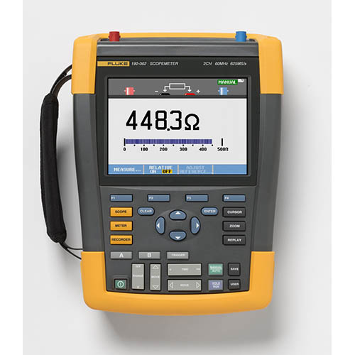 Fluke 190-062/AM *Factory Reconditioned* Scopemeter 2Ch 60 MHZ Color