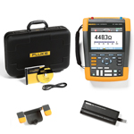Fluke 190062AM-BP291-HH290-DD Depot Deal 60 MHz, 2 Ch, Scopemeter, w/ FREE battery, & Hanging Hook