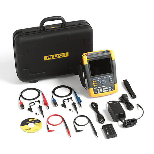 Fluke Test Instruments : Fluke am s mhz channel ms color