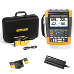 Fluke 190062AMS-BP291-HH290-DD Depot Deal 60 MHz, 2 Ch, Scopemeter, w/ FREE battery, & Hanging Hook