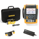 Fluke 190502AM-BP291-HH290-DD Depot Deal 500 MHz 2 Ch ScopeMeter, w/ FREE battery, & Hanging Hook
