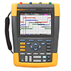 Fluke 190-504/AM 500 MHz, 4 Ch, 5 GS/s, ScopeMeter Oscilloscope with Built-in Digital Multimeter