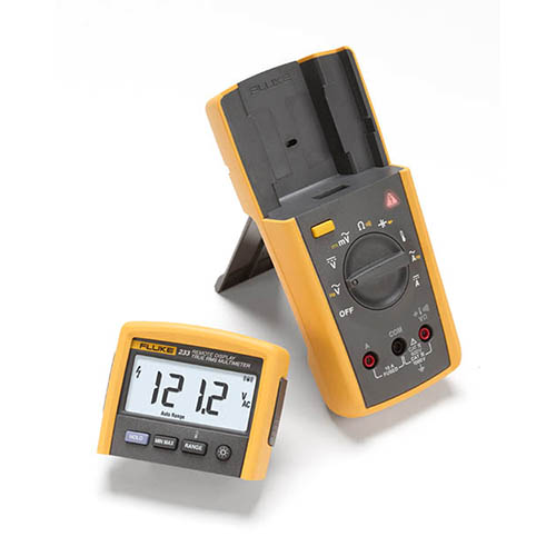 Fluke Test Instruments : Fluke true rms remote display digital multimeter at