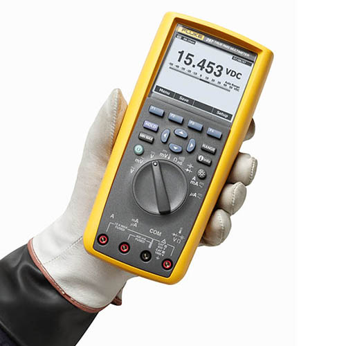 Fluke Test Instruments : Fluke true rms industrial logging digital multimeter