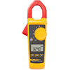 Fluke 324 600V/400A AC/DC True-RMS Clamp Meter with Temperature, & Capacitance Measurements
