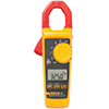 Fluke 325 600V/400A AC/DC True-RMS Clamp Meter with Frequency, Temp, & Capacitance Measurements