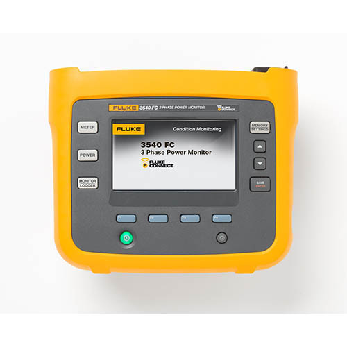 Three Phase Voltage Monitor : Fluke fc kit three phase power monitor and condition