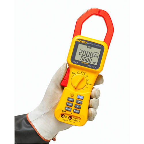 Ac Dc True Rms Clamp Meter : Fluke true rms ac dc clamp meter a at the