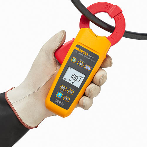 Fluke Meters Clamp On Sale : Fluke fc true rms wireless leakage current clamp meter