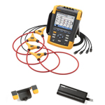 Fluke 434II-BP291-HH290-DD Depot Deal 3-Phase Energy Analyzer, w/ FREE LI-ion battery, Hanging Hook