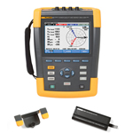 Fluke 435II-BP291-HH290-DD Depot Deal 3-Phase Power Quality Analyzer, w/ FREE battery, Hanging Hook