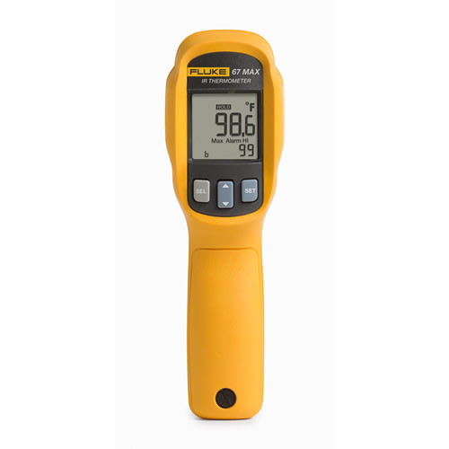 Fluke 67 Max Clinical Infrared Thermometer 71 6 F To 109 F 0 5 F At The Test Equipment Depot