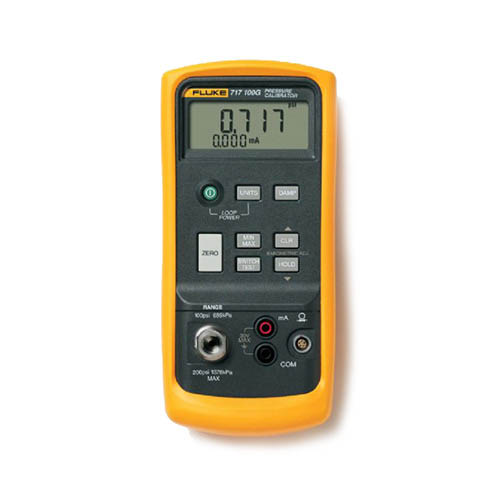 Fluke 717 5000G Pressure Calibrator, 0 to 5000 psi