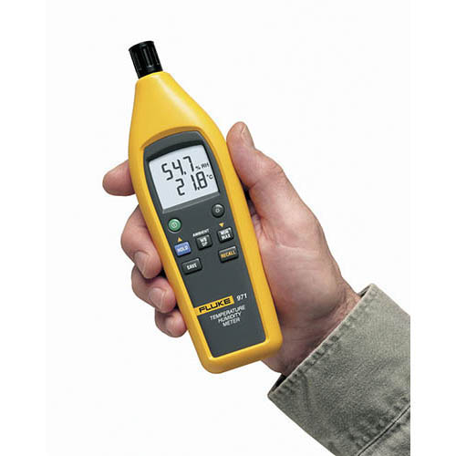 Moisture Probe For Fluke Multimeter : Fluke temperature humidity meter at the test
