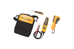 Fluke FL62MAX+/T+PRO/1AC Infrared Thermometer, Electrical Tester, VoltAlert AC Voltage Tester Kit