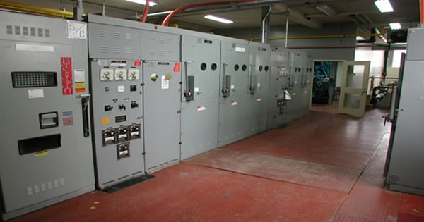 Install Switching Gear and Mechanical Equipment