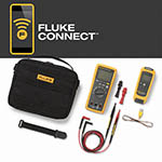 Click here for a larger image - Fluke FLK-T3000 FC KIT Multimeter, temperature module and accessories kit