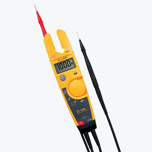 Fluke Test Instruments : Fluke t electrical testers at the