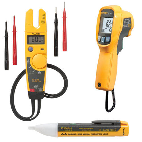 Fluke Test Instruments : Fluke t max ac ii ir thermometer electrical