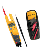 Fluke 875-TL81A-DD Depot Deal TRMS Digital Multimeter, with Temperature with Deluxe Test Lead Set