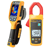 Click here for larger image - Fluke FLK-TI100/C1A 9HZ Ti100 Thermal Imager & CNX A3000 Kit
