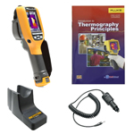 Fluke TI100-BOOK-TRIPOD-CARCHARGER-DD Depot Deal Thermal Imager w/ FREE Book, Tripod, & Car Charger